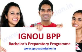 IGNOU BPP Admission