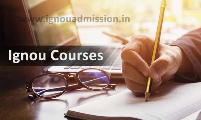 List of Ignou Courses