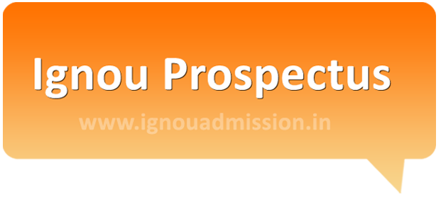 Download Ignou Prospectus