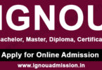IGNOU Online Admission