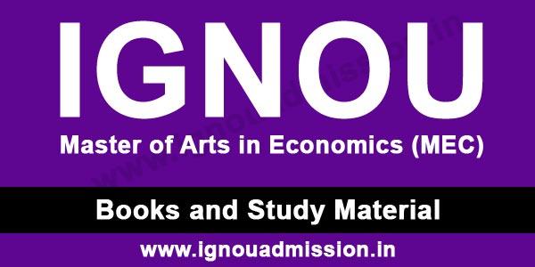 IGNOU MA Economics Study Material Free Download