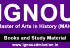 IGNOU MA History Study Material