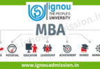 IGNOU MBA Admission - Apply for IGNOU OPENMAT