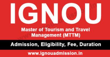 IGNOU MTTM Question Papers