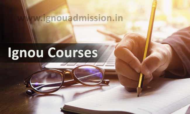 List of Ignou Courses